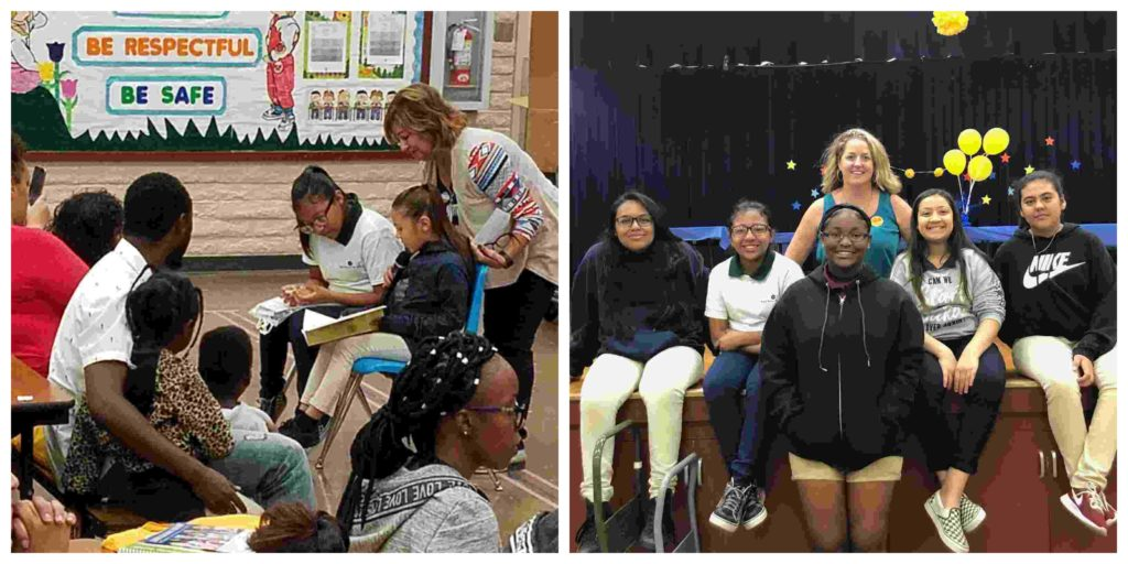Read Better Be Better participated in a parent-engagement event at Avondale school