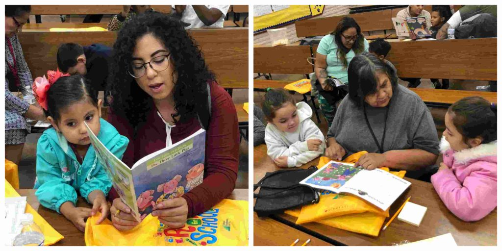 Read Better Be Better participated in a parent engagement event at Avondale school