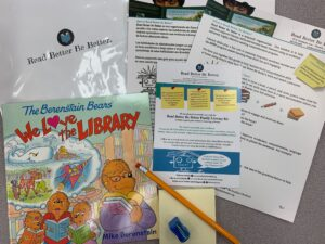 ntents of a Family Literacy Kit from RBBB