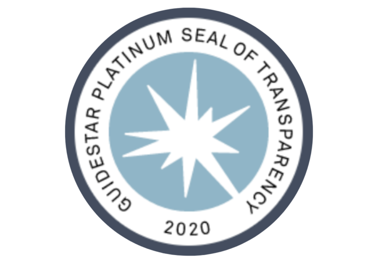 Guidestar Platinum Seal of Transparency 2020 for RBBB